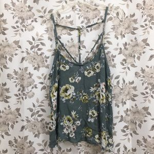 Full Tilt Crop Top Size M